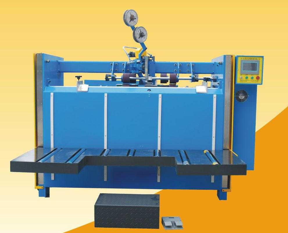 High efficiency semi-automatic nailing box making machine