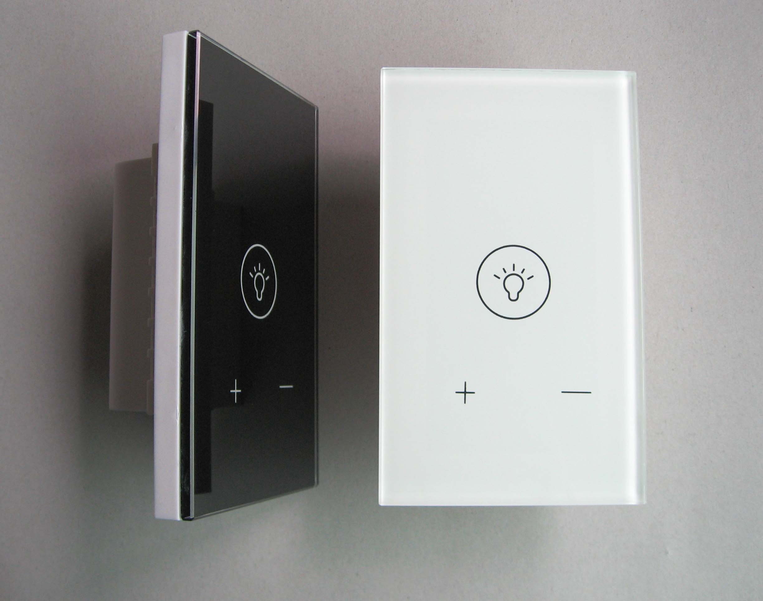 us standard touch dimmer switch touch dimmer function light switch glass panel light dimmer. Black Bedroom Furniture Sets. Home Design Ideas