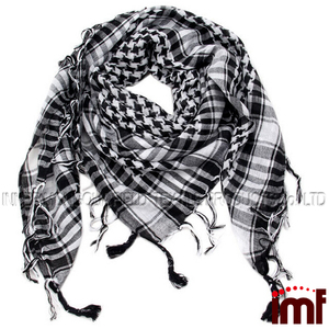 Fashions 9 Multi color Arab Shemagh Head Arafat Checkered Men's Scarf