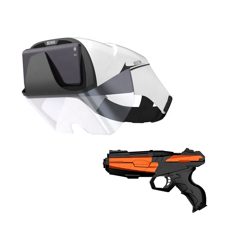 Top Selling AR Helmet IOS Android Cellphone Used <strong>VR</strong> <strong>3D</strong> Video <strong>VR</strong> Augmented Reality <strong>Glasses</strong> AR BOX 2.0