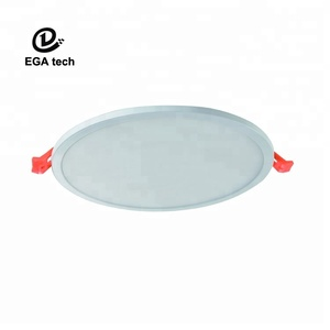 Aluminum+PS, LGP SANAN ,50lm/W, PF>0.6, Flicker Free, Guarantee 3yrs LED round panel light for business quarter