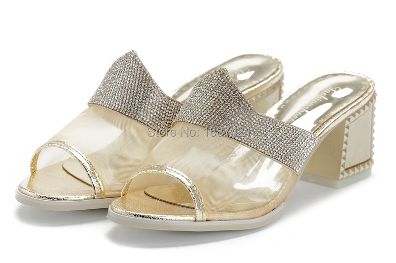 Women shoes, Spring & Summer Fashion Leather Sandals, Fashion High Heels Pumps Size:35-39. Silver, Gold.