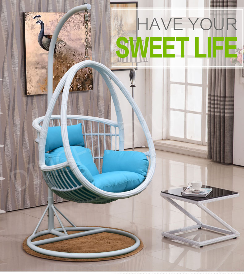 Cocoon Hanging Chair Portable Living Room Swing Chair ...