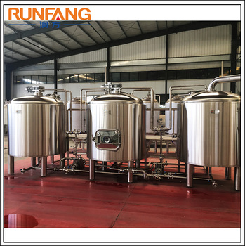Pub Beer Machinery 5bbl Brewery Equipment Beer Brewing