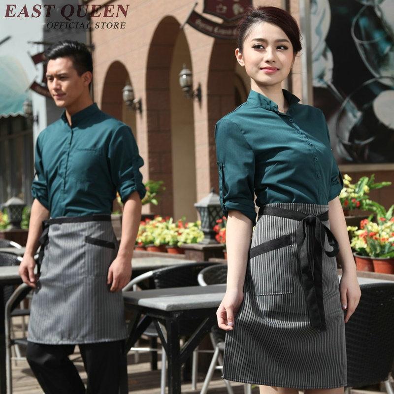 Compra hotel uniform for waitress online al por mayor de