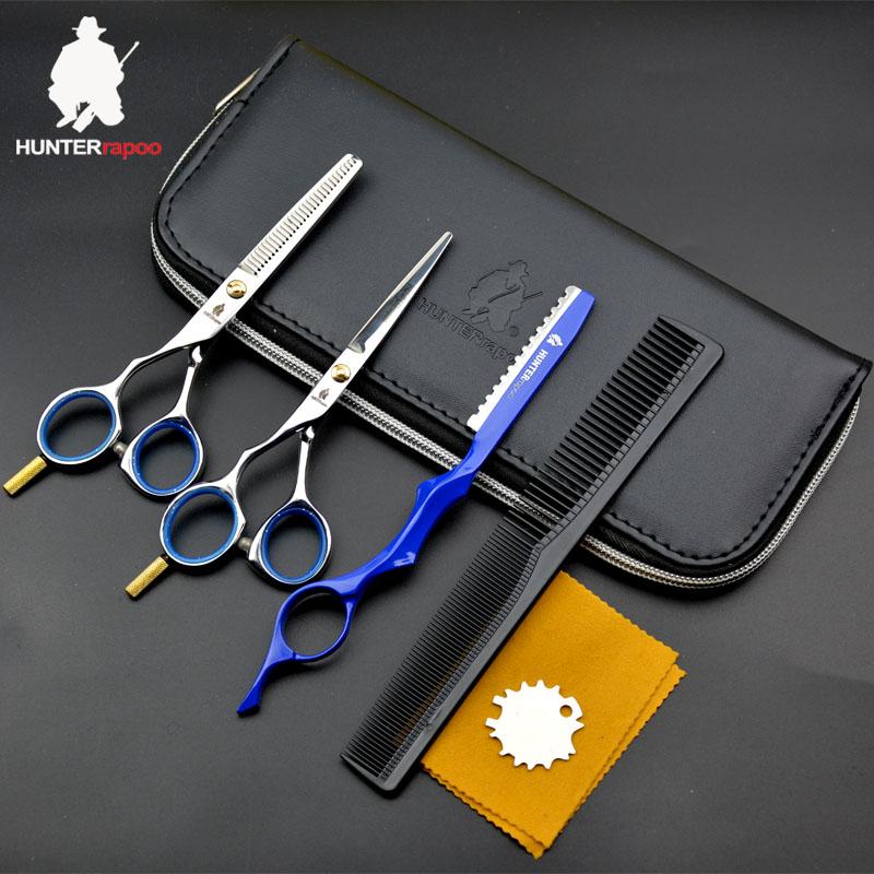 Alibaba.com / 5.5 Inch Left Hand Scissors Japanese Steel hairdressing scissor haircut shears thinning barber scissors kit