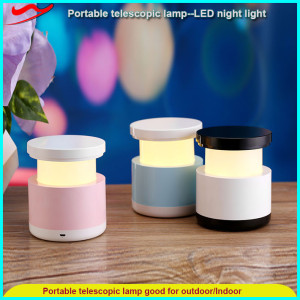 Telescopic lamp / colorful children magic led turtle night light