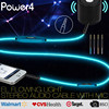 EL light glowing Audio Cable - 3.5mm Male to Male - Aux Cord for Car, iPod, iPhone and all DVD