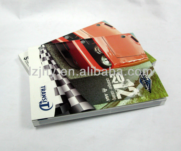 2012 Top quality car catalogue/brochure printing manufacturer.
