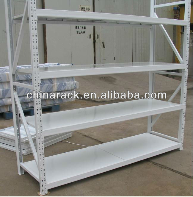 Height adjustable custom storage metal book shelf