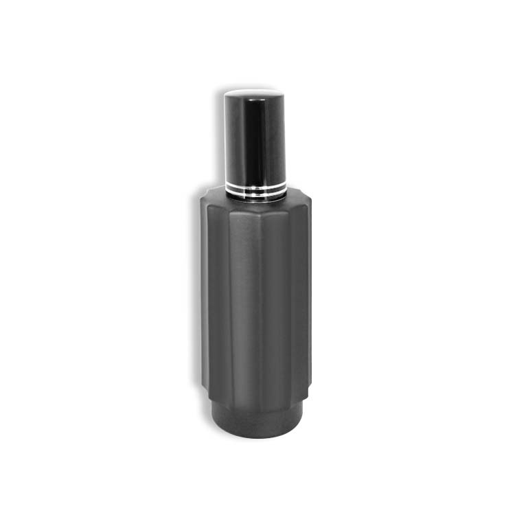 50ml refillable perfume spray bottle with black cap