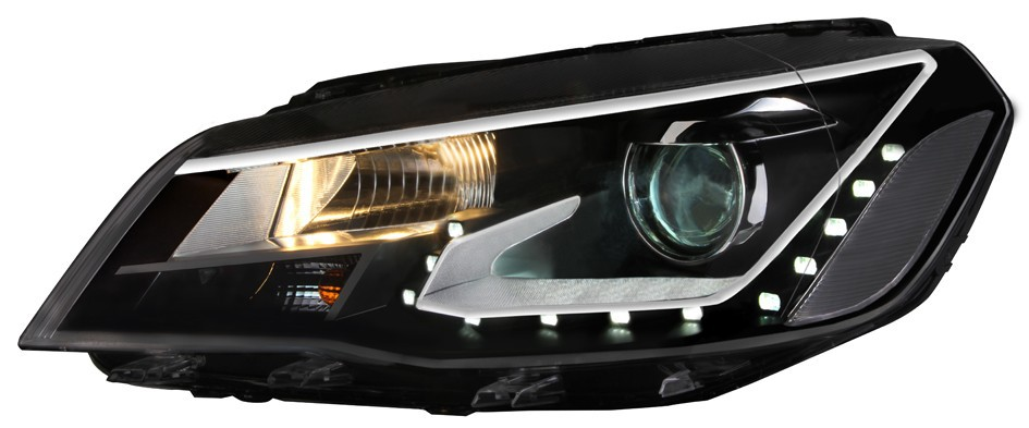 High quality car hid halo headlights for volkswagen Jetta 2013-2014