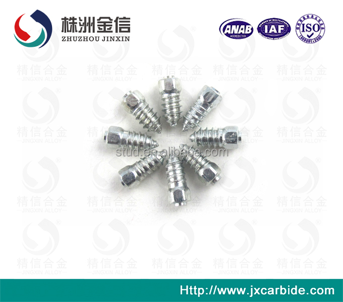 HM15 Alloy Threaded Tire Studs Snowmobile Removable Spike Motorcycle Tyres