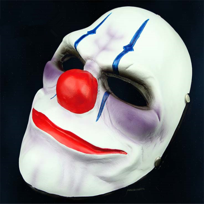 Payday 2 Halloween Clown Masks