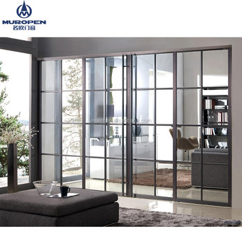 Heat Insulation Aluminum Sliding Door Philippines Price And Design For  Office