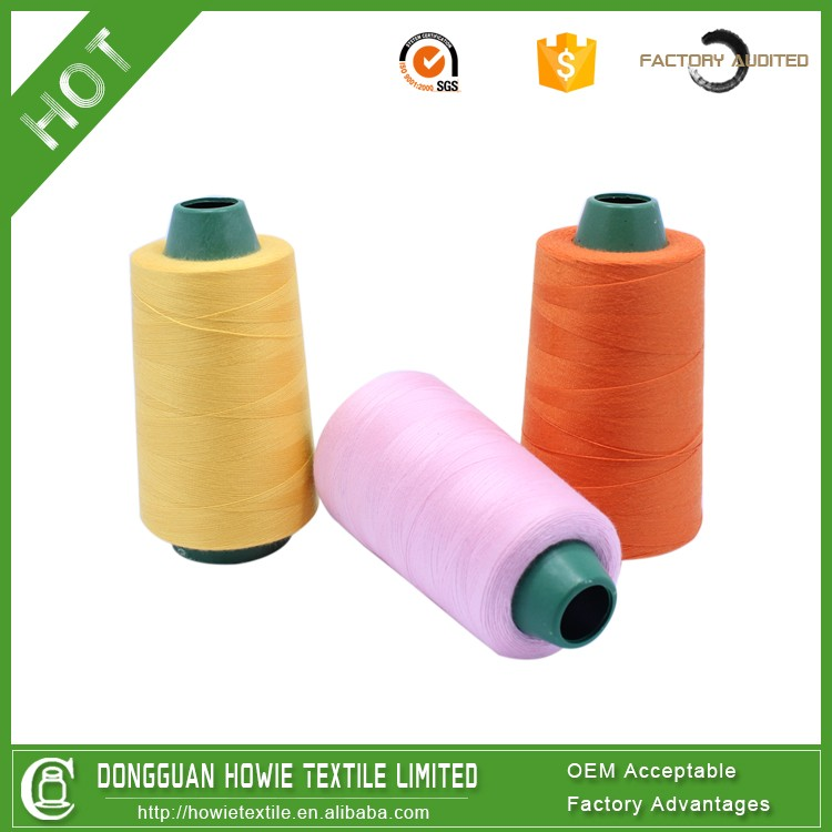 100% spum polyester thread sewing, polyester sewing thread