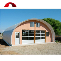 Prefab engineering structure carport frame S shape steel garage kit structure building