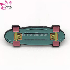 Custom scooter shape magnetic back lapel pin