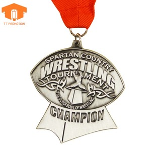 Wholesale cheap custom logo 2d 3d exquisite metal award sport medal medal trophy cup china cups medal