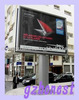 outdoor scrolling billboard advertising,city double sided scrolling light box