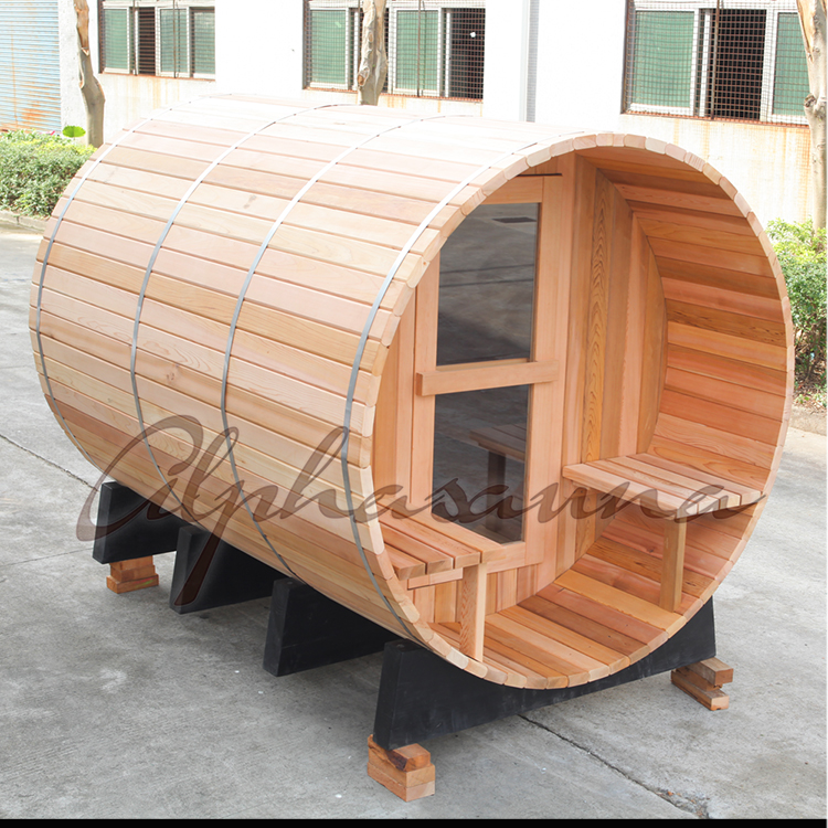 Barrel Sauna / Steam cabin / garden sauna room