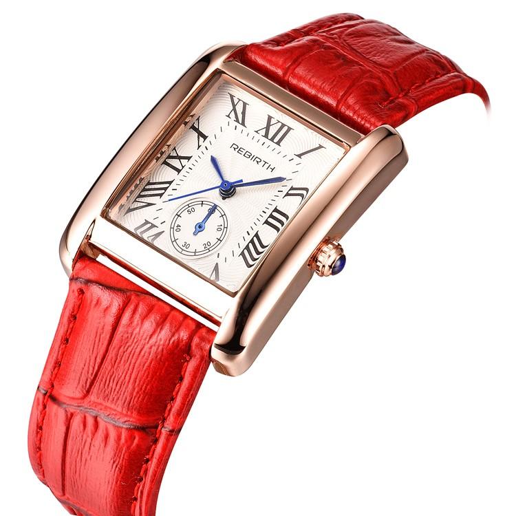 Alibaba.com / RE 002 Women Quartz Watches  Luxury Brand Stainless Steel Ladies Elegant Dress Wristwatches Female Watch Clock Senhoras assistir