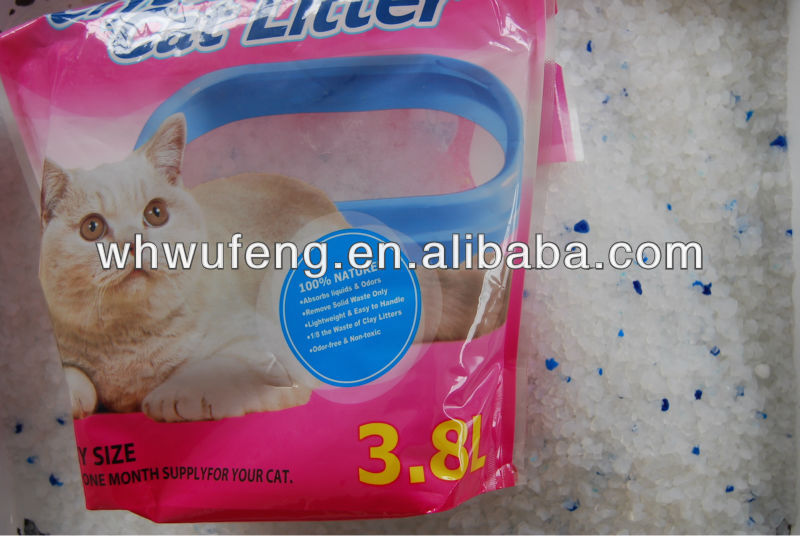3.8L cat litter manufacturers cat toilet sand