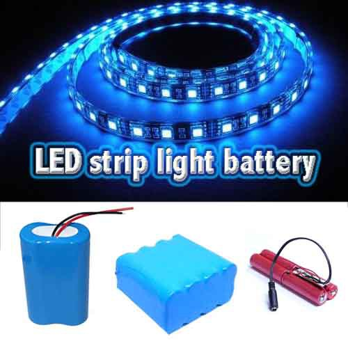 Rechargeable 5 Volt 12v Lithium Battery Pack For Led Light