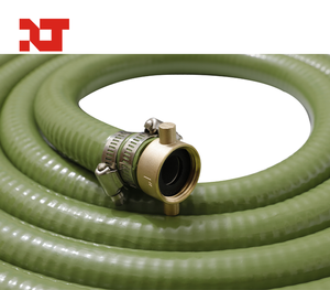 PVC Steel Wire Suction Hose Assembled with Camlock