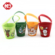 China Factory Decorative Christmas Easter Felt Candy Bucket For Party