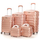 carry on trolley bags 5pcs luggage sets ladies hand bags