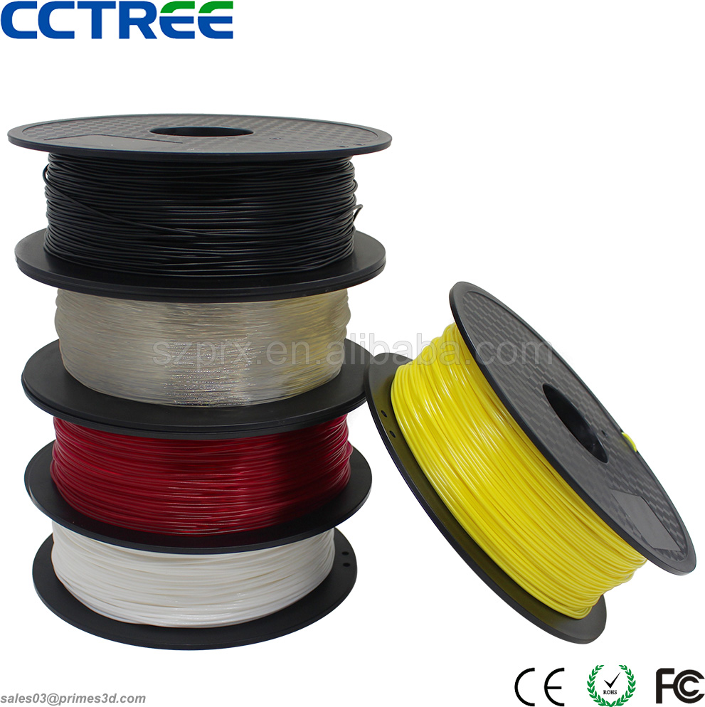 CCTREE factory good quality 1.75mm PLA ABS filament, 3d printer filament