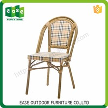 Factory Custom Luxurious bamboo look outdoor garden furniture