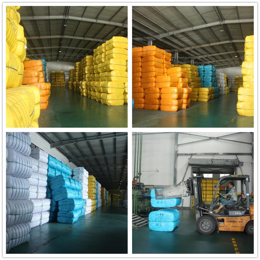 pet bottles recycled polyester staple fiber with silicon 15*64mm HCS