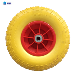 4.00-8 PU foam filled tires for hand truck