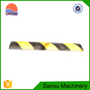 Strong Durable Safety Road Rubber Speed Bump With Cat Eyes