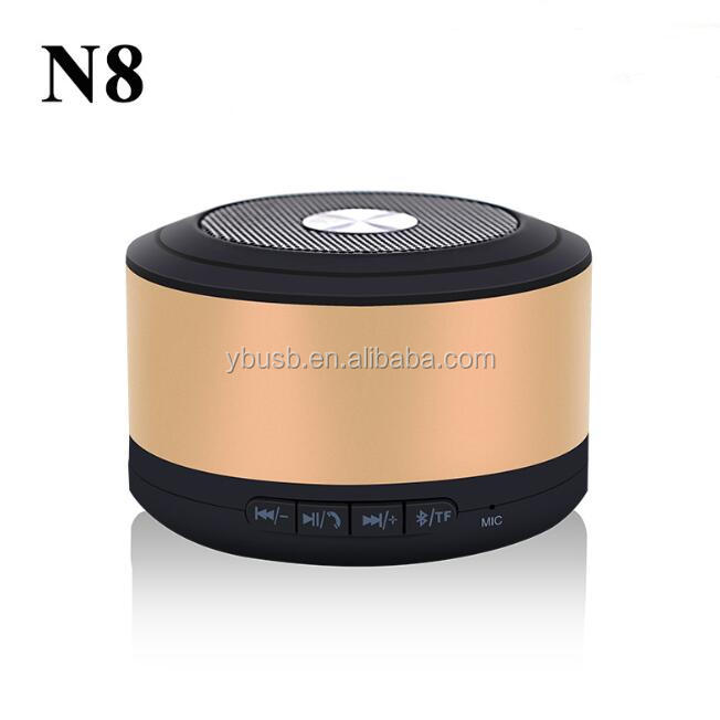 N8 OEM mini wireless portable bluetooth speaker made in china