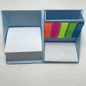 Foldable memo cube/memo pad box/interesting fancy note sticky note organizer