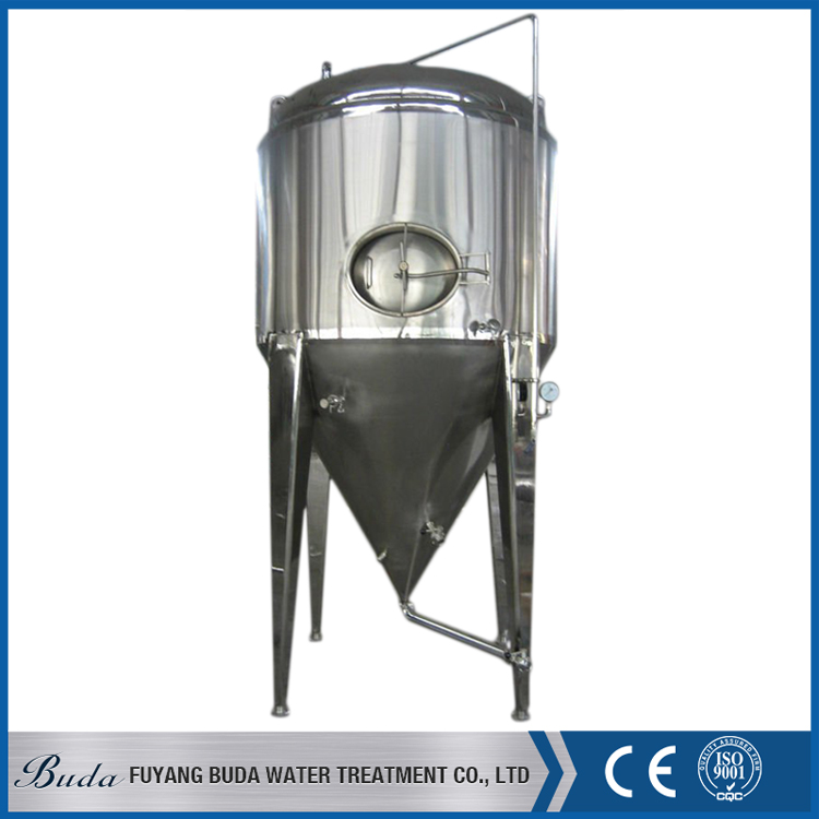 Brand new 10000l conical fermenter, pub brewing machine, conical jacketed fermenter