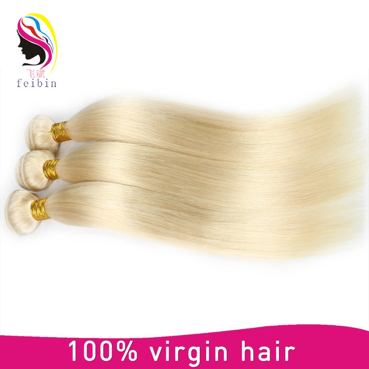 Best Virgin Hair Vendors Peruvian 613 Blonde Color Straight Hair Weaving фото