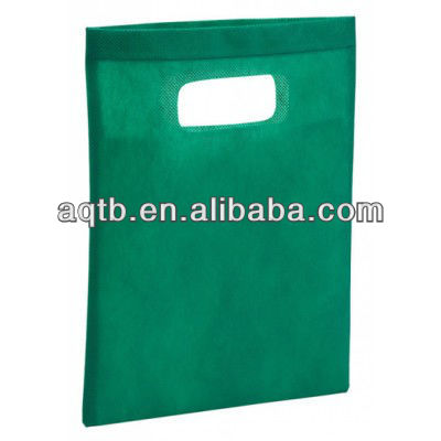 With a super gloss shine and soft feel of die cut handle bag