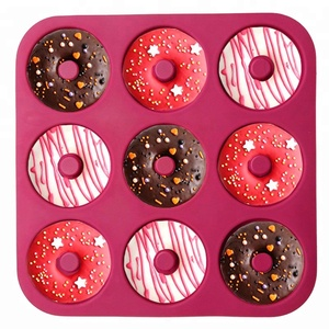 silicone nonstick Doughnut donuts donut baking pan tray mould mold