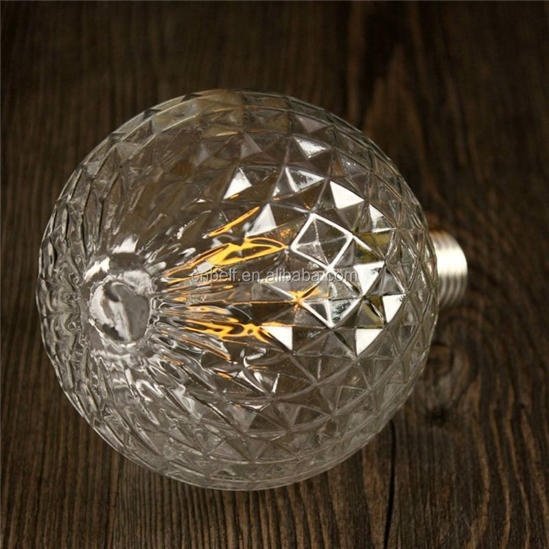 China Factory Decorative Lighting Bulb In Hotel Facet Diamond Led ...