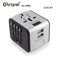 2017 best popular business go abroad use Otravel travel adapter usb office promotion wholesale China gift item set