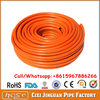 8*15MM Spanish Braided Flexible PVC LPG Gas Hose Pipe Barbecue Cooker Pipe Orange for Stove and Regulator Connecting Hot Sale