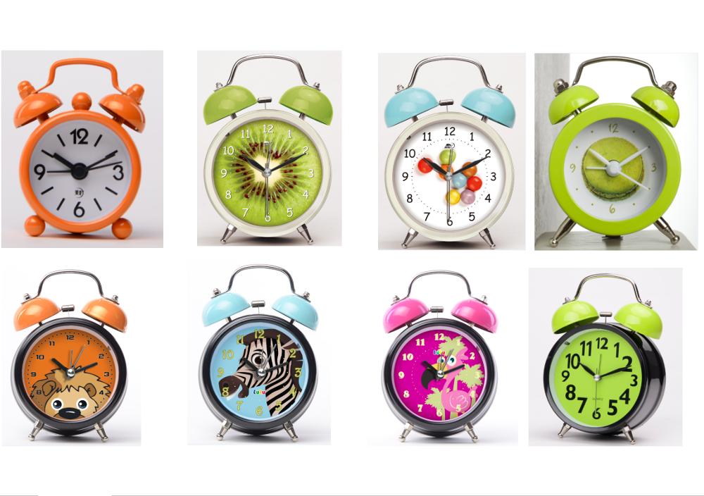 23e27a8c6e3 Mini alarme sino do relógio das crianças-Relógios de mesa-ID do ...