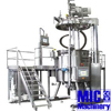 MIC- 500L cheap ice cream Vacuum mix tank/homogenizer syrup vacuum mixer with 500L oil and water tank with ce
