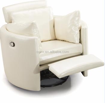 sliver color single lazy boy leather recliner sofa - Lazy Boy Leather Recliners