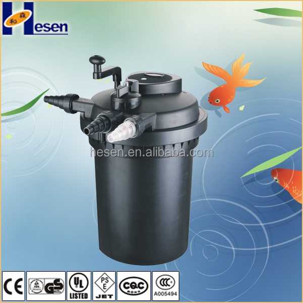 2016 new filter CPF-10000 with UV-C sponge Bio koi fish farm pond swimming water pool filter