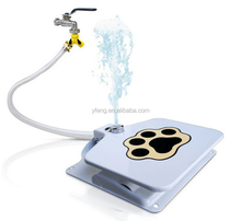 pets new inventions most selling products step and spray dog drinking fountains